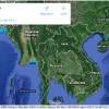 Bản đồ vệ tinh trực tuyến Việt Nam