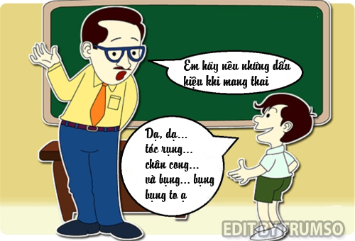 Truyện cười về thầy cô giáo
